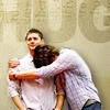 Jamie: celeb; j2; hug