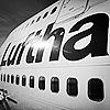 самолёт. Lufthansa
