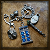ART Doctor Who charms