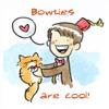 11 + Schrodinger Bowties are cool orange