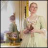 Louisbourg gown mirror
