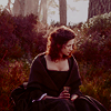 Outlander-Claire in Woods