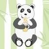 Панда любит ромашковый чай