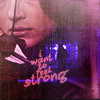 Christina: tw- a- i want to feel strong