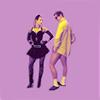 Naomi: VM 80's dance by violet-clouds