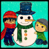Kosh: build a snowman
