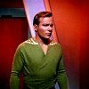 angelus2hot: Star Trek Captain Kirk green shirt
