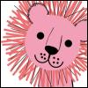 cat--pink lion