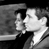 Wyoming Knott: mulder & scully - b/w driving