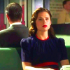 Avengers-Peggy in cafe