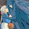 Sophi and Howl Crow Hug