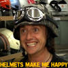 Das Tofu: Hammond's happy helmet