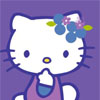 Hello Kitty Purple