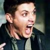 sinfulslasher: spn dean girly scream