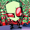 Dusty: Invader Zim. Stand out in Crowds.