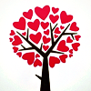 heart tree by brutal