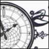 Ornament, Uhr, Zeit