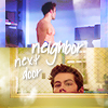 Teen Wolf::Stiles & Derek::neighbor