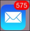 575 unread emails