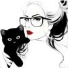 кошка и в очках
