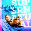 Dean -- No Singing in SPN