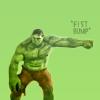 Jill aka Jo: Movie: Avengers Hulk Fist Bump