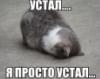 устал