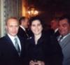 Рина Наумова-Дэвис, Владимир Путин