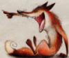 лиса ехидничает