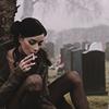 smoking on graves