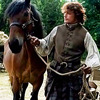 Jo Ann: Out: Jamie leading horse