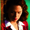 thrace_adams: Agent Carter Looking down red jacket