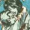 New Mutants Dani/Rahne hug