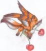 Лиса и вишни