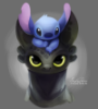 dragon, toothless, stitch