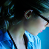 Moongirl: Arrow Felicity Looking Away