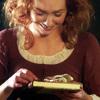 profshallowness: Demelza smiling gift Poldark