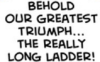 the really really long ladder, greatest triumph