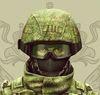soldat v kaske