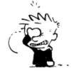 Calvin face palm