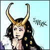 etrangere - Lady Loki is amused.