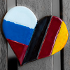 Russia, Heart, Germany