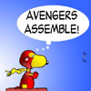 1. avengers-snoopy