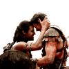 Aldi: Spartacus: Nagron forehead bump