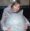 Котик и людь :)