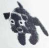 charcoal muffin dog