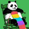 Knitting Panda