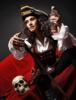 пиратка с черепом