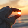 солнышко в руках