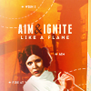 starwars: leia aim